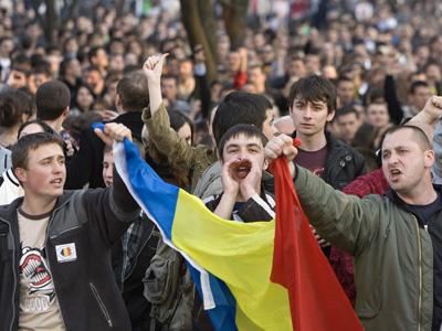 PROTEST ANTICOMUNIST - CHISINAU