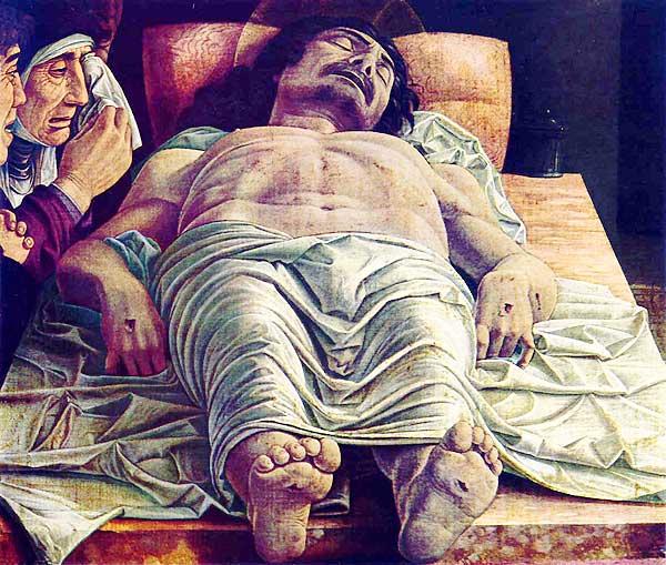 DeadChrist - Andrea Mantegna